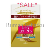 Meiji Amino Collagen Premium Refill 214g & Can 200g