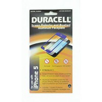 [poledit] Duracell iPhone 5 Screen Protector and Aluminum Faceplate - Retail Packaging (R1/10173247