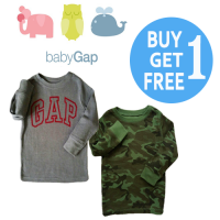BUY 1 GET 1 - Atasan BABY GAP Lengan Panjang| Boys| Kids Sweater| Branded