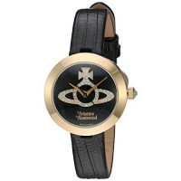 [macyskorea] Vivienne Westwood Quartz Stainless Steel and Leather Automatic Watch, Color:B/13346274