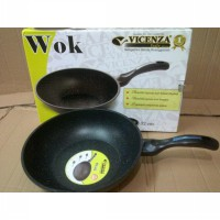 [Vicenza] Marble Wok VW-132
