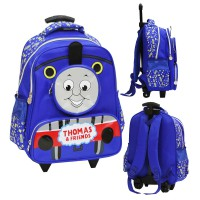 Tas Trolley Anak SD Import Thomas And Friend 4 Kantung - Blue