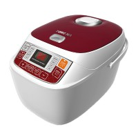 Yong Ma Rice Cooker Digital Teflon Gold Iron YMC 206 R Merah