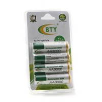 Rechargeable battery BTY-5 4 pcs BTY aa 3000mah 1.2V ni-mh Rechargeab
