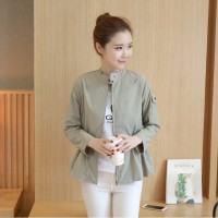 Jacket Fashion Import kode A30238 Gray S, M, L