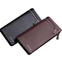 New Men Leather Card Cash Receipt Holder Organizer Bifold Wallet Purse