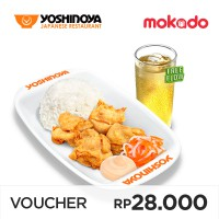 Yoshinoya - Chicken Set Karaage