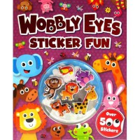 [HelloPandaBooks] Wobbly Eyes Sticker Fun Book with over 500 stickers