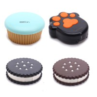 Softlens Case - Cupcake, Foot, Oreo (4 Option)