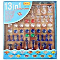 13in1 Family Game - Magnetic Board Game Set