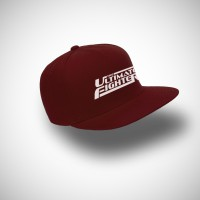 Topi Snapback The Ultimate Fighter - Maroon