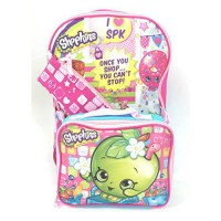 [poledit] Shopkins Backpack and Lunch Box Set with Bonus Pencil Case (R1)/12183732