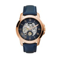 Fossil Grant Automatic ME3054 Rose Gold Blue J
