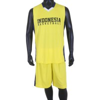 Proteam Jersey Indonesian BBall Yellow-Navy