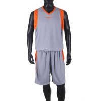 Proteam Jersey 3Line BBall Grey-Orange
