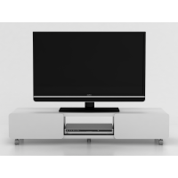 Anya-Living Jeff 140D SBN Rak/Meja TV White-Grey