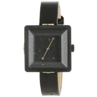 [holiczone] Vivienne Westwood Womens VV008MBKBKNC Cube Watch With Black Leather Band/1202454