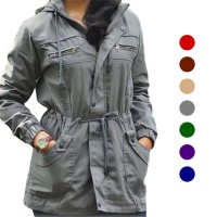 Jaket Parka Wanita in 7 color