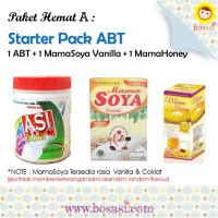 Paket Pelancar ASI - ASI booster Tea + Mama Soya + Mama Honey
