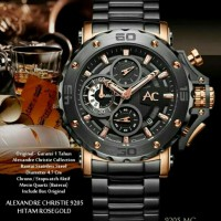 Jam Tangan Pria Alexandre Christie 9205mc Colection Original Linited Edition