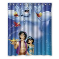 [globalbuy] 2015 New Customed Famous Aladdin Fashion Home Living Waterproof Bathroom Decor/3364068