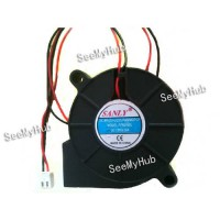[globalbuy] Free Shipping For SANLY SF5015SL Server Blower Fan DC 12V 0.06A 50x50x15mm 2wi/2528638
