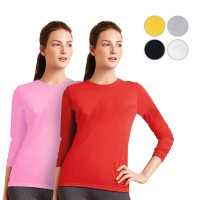 American Brand | GILDAN Long Sleeve Ladies 76400L | 6 Warna