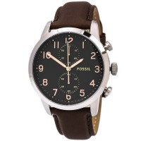 FOSSIL FS4873 BROWN LEATHER