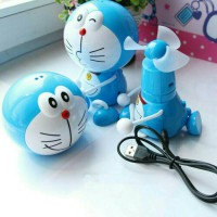 KIPAS ANGIN MINI KARAKTER DORAEMON HELLO KITTY