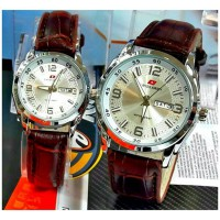 Swiss Army Jam Tangan Couple - Brown