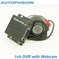 [globalbuy] HD D1 1ch Mini DVR car/Bus/home Used 1 channel DVR Motion Detect With Webcam a/3475826