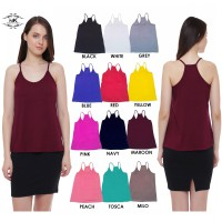 [BUY 1 GET 1] Woman Fashion Top/Camisole Top/Woman Tank Top/Avail 12 Colours/New Tank top/High Quality