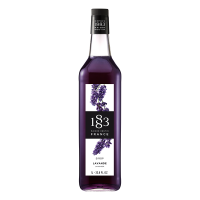 Flavoured syrup lavender 1883 maison routin