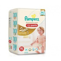 Pampers Premium Care Active baby Pants Xl 54