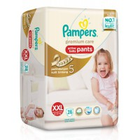 Pampers Premium care Active Baby Pants XXL 28
