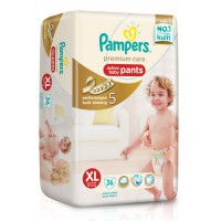 Pampers Premium Care Active baby Pants XL 36