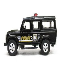 Die Cast Uni-Car Land Rover Defender Police