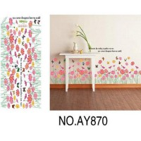 wallsticker flower pink ( List Bunga Pink )
