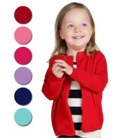 Kids Basic Candy Cardigan | All size (fit to 1-4 tahun) | Rajut Spandeks