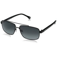 [macyskorea] Jack Spade Mens Garrett Rectangular Sunglasses, Black, 59 mm/11495008