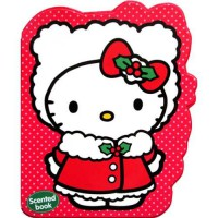 [HelloPandabooks] Hello Kitty Christmas (RED) Scented Chunky Book