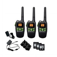 Motorola Walkie Talkie MD200TPR Walky Talky HT - [3 Handsets][ Up To 20 Mile]