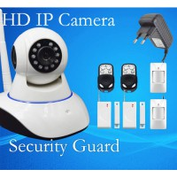 [globalbuy] 2015 New Alarm type wifi HD IP Camera IPC Shake Head P2P Network Camera Suppor/3280614