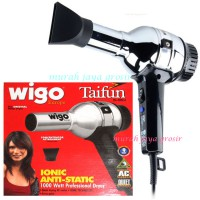 Wigo Taifun Europe - Hair Dryer Ionic Anti Static Germany 1000 Watt - Silver