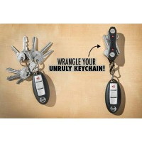 KeySmart Key Ninja Compact Keychain with LED flash