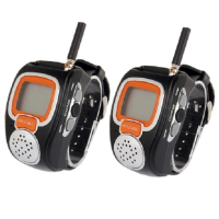 Freetalker Watch Walkie Talkie 462MHz-467MHz Up to 6Km of Range - 2pcs