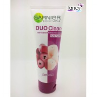 GARNIER DUO CLEAN FACIAL FOAM GRAPE LYCHEE 100gr