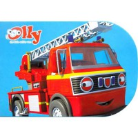 [HelloPandaBooks] Olly My Chunky Story Book ROYSTON THE FIRE ENGINE