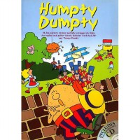 Buku Anak Humpty Dumpty - 16 Fun Nursery Rhymes specially arranged for kids, for topline and guitar chords (Includes Full Performance Audio CD)