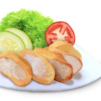 Masakan Jepang Frozen Food : EGG CHICKEN ROLL [18 pcs] [GO-SEND Ready]